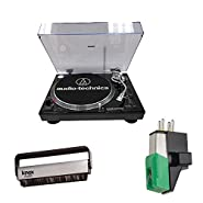This professional stereo turntable features a high-torque direct-drive motor for quick start-ups and a USB output that connects directly to your computer. Other features include: forward and reverse play capability; cast aluminum platter with...