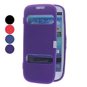 conseguir Color sólido funda protectora TPU para Samsung Galaxy S3 I9300 (colores surtidos) , Negro