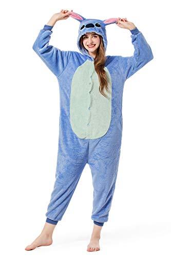 Grilong Stitch Onesie Costume Unisex Adult Animals