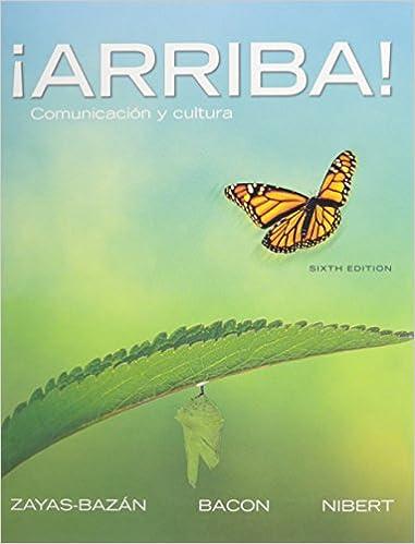 9780205740376: ¡arriba! : comunicación y cultura (6th edition.