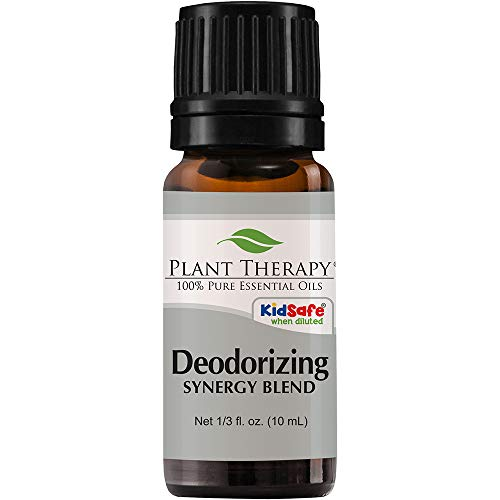 Plant Therapy Deodorizing Synergy Essential Oil Blend 10 mL (1/3 oz) 100% Pure, Undiluted, Therapeutic Grade (Plant Therapy Synergy Blends)