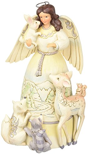 Jim Shore for Enesco Heartwood Creek Woodland Angel with ...