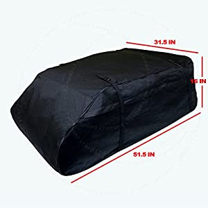 LT Sport SN#100000001139-220 For Hyundai Aerodynamic Roof Top Waterproof Storage Cargo Bag