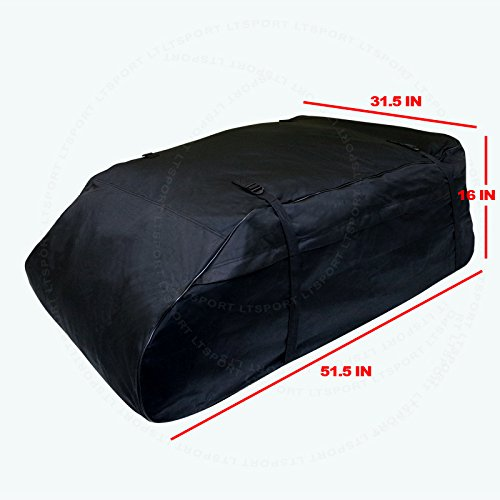 LT Sport SN#100000001139-248 For Toyota Aerodynamic Roof Top Waterproof Storage Cargo Bag