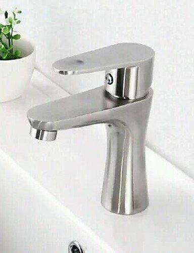 Zeitgenössische Messing StaÖl ein Loch Einhand Waschbecken Wasserhahn Edelstahl