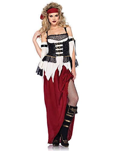 Buried Treasure Costume (Buried Treasure Beauty Adult Costume - Small)