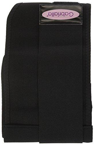 Gabrialla Elastic Maternity/Back Support Belt MS-96: Black X-Large