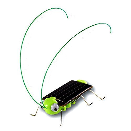 - Qinmay Frightened Grasshopper Kit - Solar Powered - Educational Toy