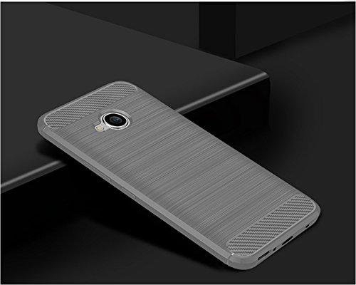 Funda HTC X2,Funda Fibra de carbono Alta Calidad Anti-Rasguño y Resistente Huellas Dactilares Totalmente Protectora Caso de Cuero Cover Case Adecuado para el HTC X2 B