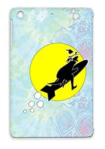 Witch2 Anti-scratch Case For Ipad Mini Yellow Holidays Occasions Humor Witch Comic Cartoon Halloween Miscellaneous