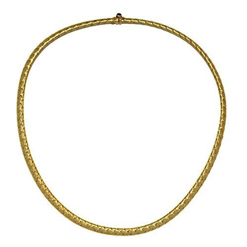 Yellow Gold Basketweave - 7