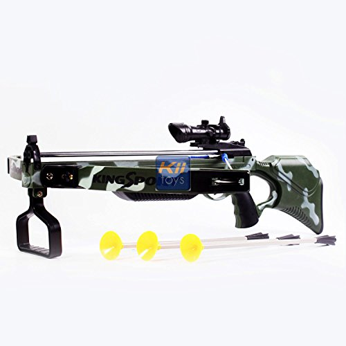 Amazon com : Toy Crossbow for kids with Scope & Arrows