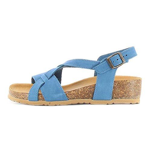 BioNatura - 12A826JEANS - 123039453 - Color: Azul - Size: 35.0