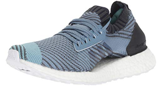 Picture of adidas Women's Ultraboost X Parley Running Shoe, raw Grey/Carbon/Blue Spirit, 7.5 M US