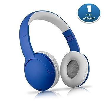 Bluetooth inalámbrico de auriculares plegable sobre la oreja Auriculares con micrófono llamadas Radio FM Función Compatible