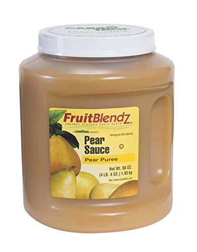 Carbotrol Pear Sauce 6 Case 68 Ounce by Leahy IFP (Image #1)