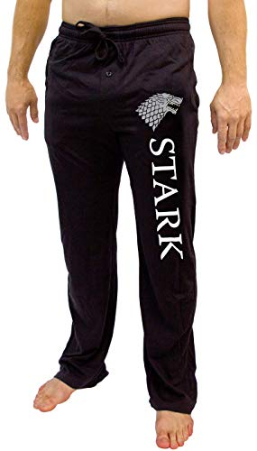 Tony Stark Costume Ideas (Game of Thrones House of Men's Pajama Pant Costume Adult Lounge Stark)