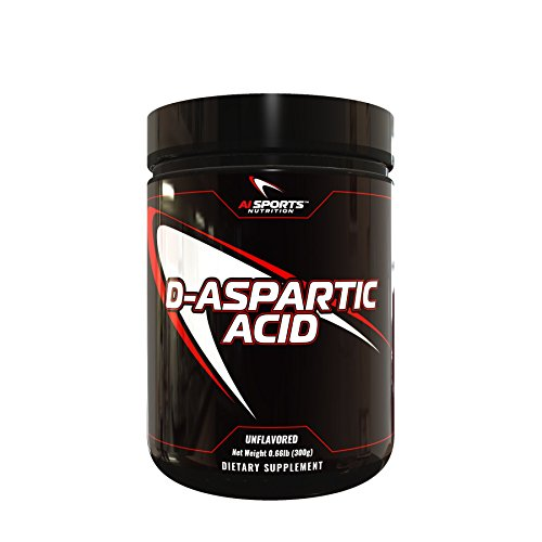 AI Sports Nutrition D-Aspartic Acid – Nitric Oxide Booster – 300 g