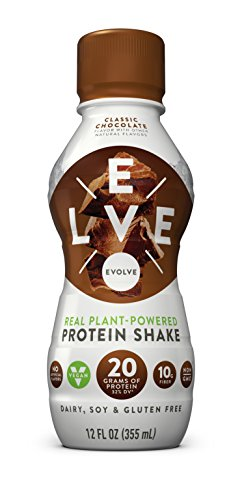 Evolve Protein Shake, Classic Chocolate, 20g Protein, 12 FL OZ, 12 count