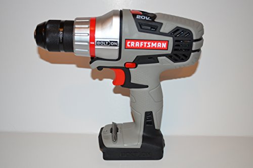 Craftsman Bolt-On 20 Volt MAX Cordless Power Unit with Drill/Driver (WITHOUT Battery & Charger)