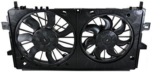 Dual Radiator Cooling Fan w/Motor for Impala LaCrosse Allure Monte Carlo V8