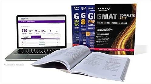 GMAT Prep Plus 2018 6 Practice Tests  Proven Strategies  Online  Video  Mobile Kaplan Test Prep