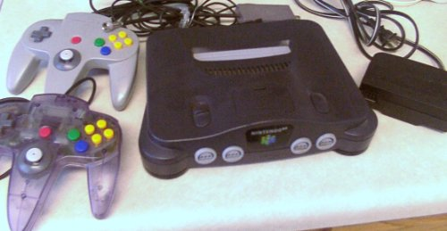 Nintendo64 System Controllers
