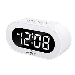 REACHER Small LED Digital Alarm Clock...