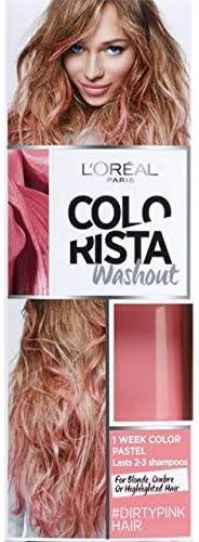 LOreal Paris Colorista Coloración Temporal Colorista Washout - Dirty Pink Hair