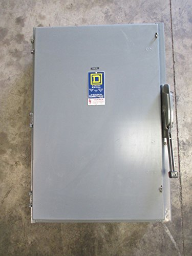 (Square D H325 400 Amp 240V Fusible Safety Switch Disconnect Series D2 400A H-325)