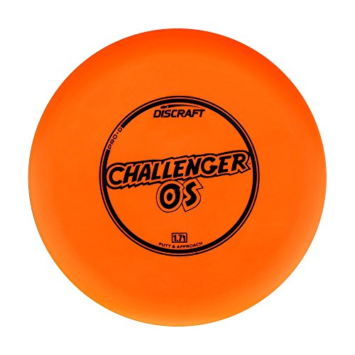 Discraft Pro D Challenger OS Putt and Approach Golf Disc [Colors May Vary] - 173-174g
