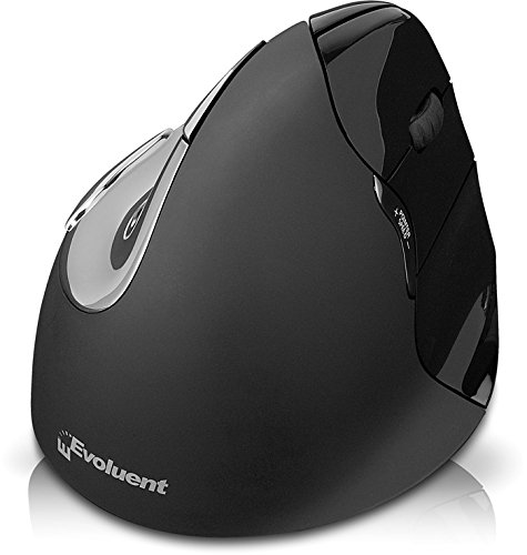 Evoluent VerticalMouse 4 Right MAC Black VM4RM by Evoluent