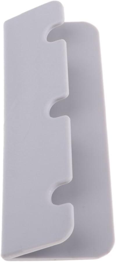 Clips de Gancho Piezas de Repuesto Montajes para Yate de Bote Colcolo 10 Piezas de PVC para Asiento de Barco