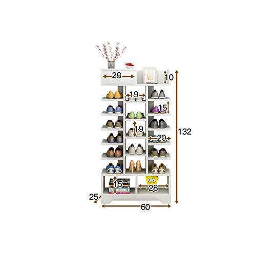 Porta Per B Salvaspazio Torre Pantofole Multi Di Stivali Scarpa Capacità Multi strato Semplice Casa Grande funzione c Tacchi Organizer Scarpiera Xue 8wZRFA8
