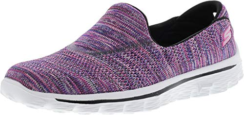 Knit Women 2 Sneakers Skechers Walk Go Purple Multi IOx0RIw