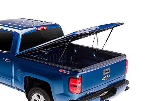 UnderCover LUX Painted One-Piece Truck Bed Tonneau Cover, Granite Chrystal | UC3086L-PAU | fits 2014-2018 Dodge Ram 1500 5.7ft Short Bed, Crew PAU - Granite Chrystal