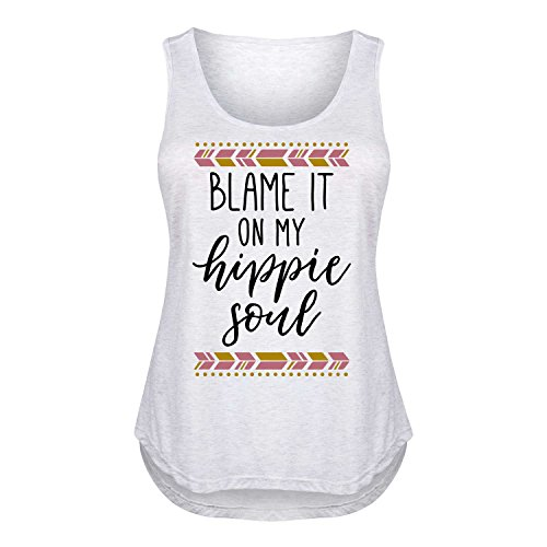 Blame It On My Hippie Soul - Ladies Plus Size Tank for sale  Delivered anywhere in USA