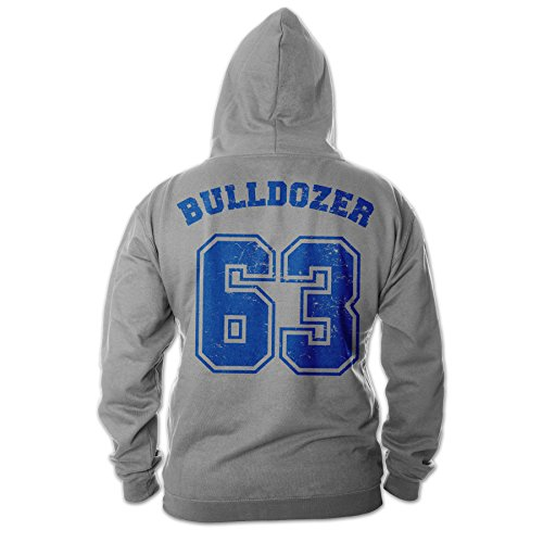 Bud Spencer Herren Bulldozer 63 Zipper (grau)