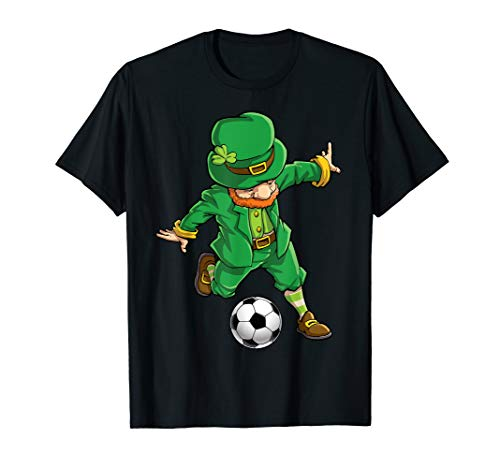 Leprechaun Soccer T Shirt St Patricks Day Boys Girls ()