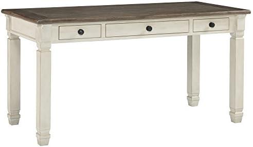 Signature Design by Ashley Bolanburg Home Office Desk Two-tone