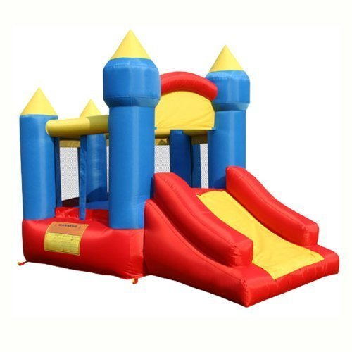 KidWise Little King's Castle Bounce House with Slide