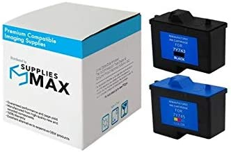 3//PK 7Y745/_3PK Series 2 SuppliesMAX Compatible Replacement for Dell A940//A960 Color Inkjet