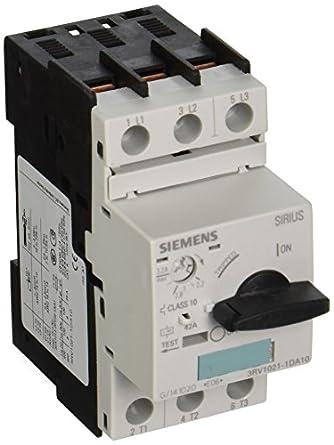 Siemens 3rv1021 1da10 manual starter and enclosure open for Siemens manual motor starter