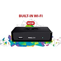 Infomir MAG254W1 MAG 254 W1 IPTV OTT Set Top Box Internet TV STB w/150 Mbps Built in Wifi