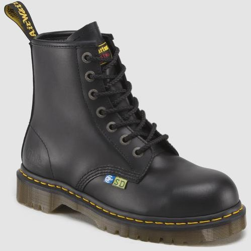 Dr. Martens Men's Icon 7B10 SSD Boots,Black,7 M UK / 8 D(M) US Men, 9 B(M) US Women