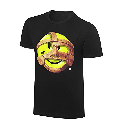Nice Youth T-shirt (WWE Mankind Have A Nice Day Youth Retro T-Shirt Black Medium)