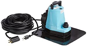 4. Little Giant 5-APCP Automatic Pool Cover Pump, Submersible Pump, 1/6 HP, 115V