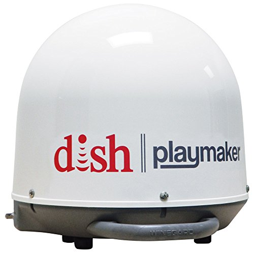 Winegard PA-1000 DISH Playmaker HD Portable Satellite Antenna (RV Portable Satellite Dish, Tailgating   Portable Satellite
