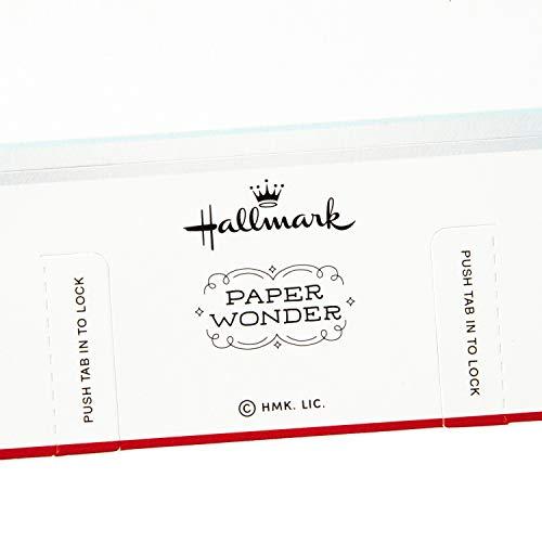 Hallmark Paper Wonder Pop Up Christmas Card Snow Globe (Woodland Creatures) Photo #5