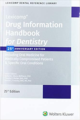 Drug Information Handbook for Dentistry, 25th Edition - Original PDF